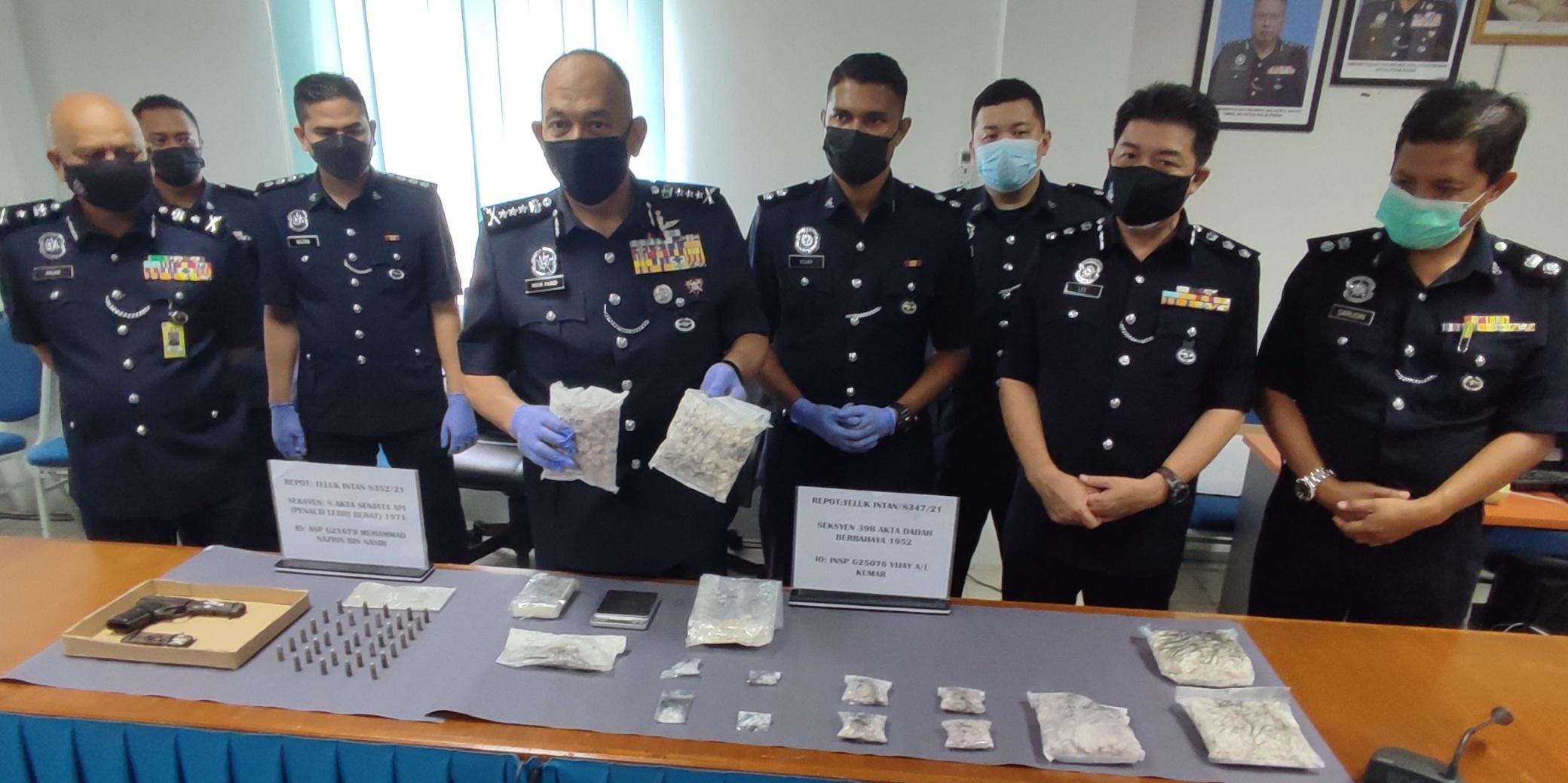 安顺警方捕一男子 起近9万毒品手枪